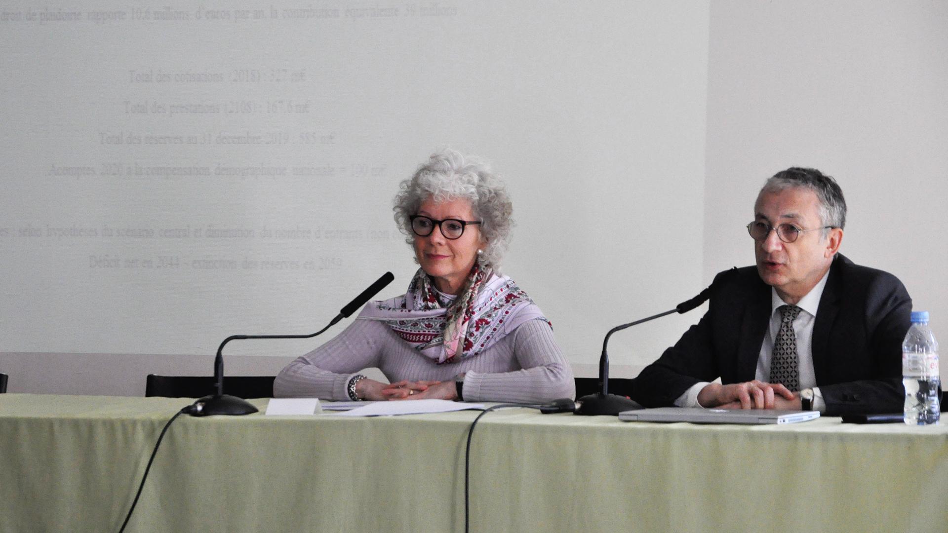 La présidente de la caisse de retraite des avocats reçue à Grenoble